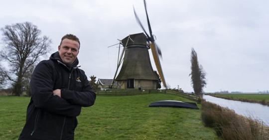 Kijk mee bij 3 molens van De Fryske Mole